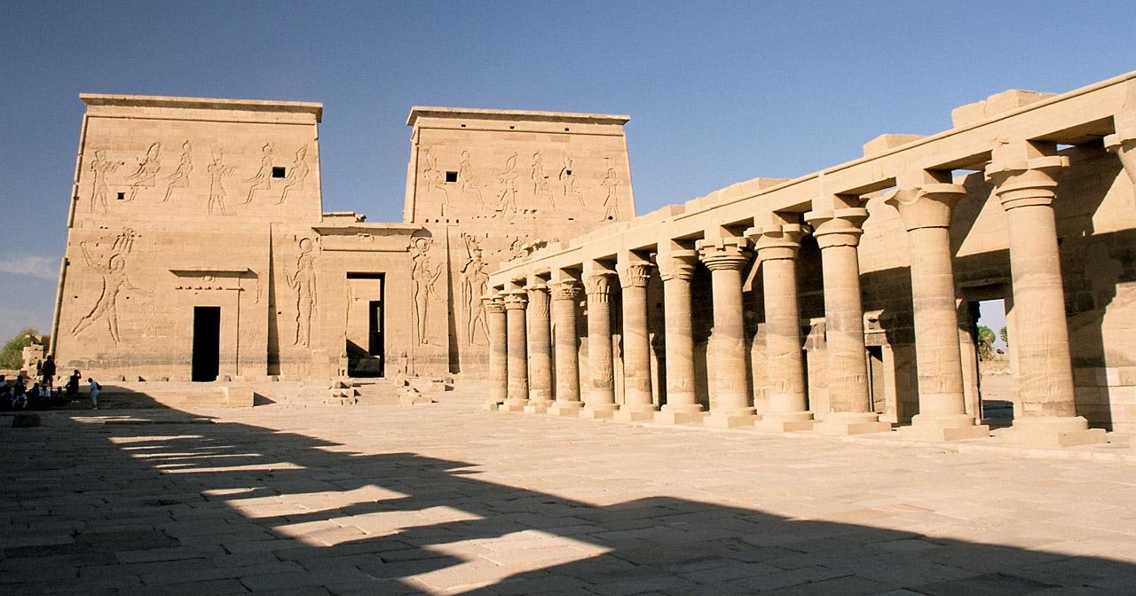 Arte_Historia_Egipto: Templo de Isis en Philae